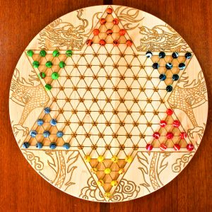 variantes estrella china chinese checkers